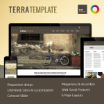 Terra // Unlimited Colors // Mobile-ready // DNN or Sharepoint