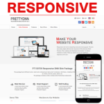 PT130709_Red Responsive Skin / CSS3 / Slider / Bootstrap / Tablet / Mobile / Business / Corporate