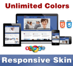 Company Skin // Grid Responsive // Unlimited Colors // Typography // HTML5 Mobile // DNN 5 & 6 & 7