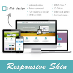 Flat Skin // Responsive // Retina // Unlimited Colors // Typography // Site Template // DNN5/6/7