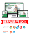 Business DNNSmart WZ0021 Green Responsive Skin - Responsive Layout, Mobile, Tablet, Energy