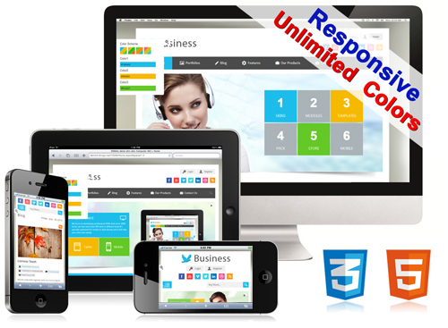 Unlimited Responsive 023 Blog / Portfolios / PageTemplate / Banner Module / Forms / Bootstrap