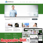 Responsive Green Skins10328 with slide banner/compatible with DNN4.5.6.7