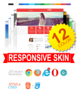Business DNNSmart WZ0027 12 Colors Pack Responsive Skin - Responsive Layout, Mobile, Tablet