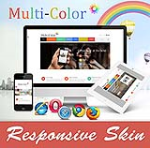 MultiColor Skin // Responsive // Retina// Unlimited Colors // Bootstrap 3 // Site Template // DNN6/7