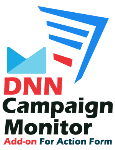 DNN Campaign Monitor Add-on For Action Form 1.0