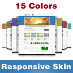 Nature Skin (15 Colors) // Grid Responsive // Bootstrap Typography // Mobile HTML5 // DNN 5/6/7