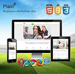 Plain Skin // Responsive // Retina // Single Color // Site Template // Bootstrap 3 // DNN 6/7