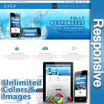 Evea / Standard / 30 Color Pack / 5 Modules / Mega Menu / Retina Ready/ Responsive Skin