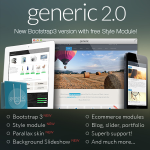 GENERIC - New Ultra-Powerful DNN Skin // Ecommerce // Sliders // Porfolio // Blog //  MegaMenu