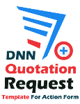 DNN Quotation Request Template for Action Form