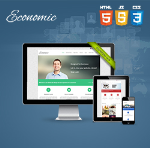 Economic Skin // Responsive // Retina // Single Color // Bootstrap 3 // Site Template // DNN6/7