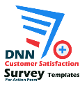 DNN Customer Satisfaction Survey Templates Pack For Action Form