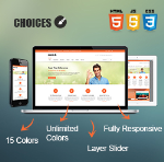 Choices Skin // Responsive // Bootstrap 3 // Unlimited Colors // Site Template // Retina // DNN 6/7