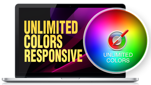 Unlimited Colors WZ0028 Responsive Skin