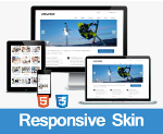 Universe // Blue // Responsive //  HTML5 // Bootstrap 3 // 2 Home Option // Mega Menu //  Blog