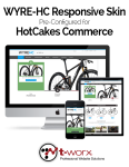 WYRE-HC Responsive Skin from T-WORX // HotCakes // DNN 7 and DNN 6 // Bootstrap