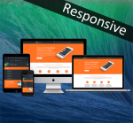 Business DNNSmart ZF0033 Orange Responsive Skin - Responsive Layout, Mobile, Tablet, Bootstrap