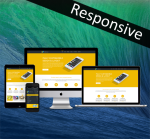 Business DNNSmart ZF0038 Yellow Responsive Skin - Responsive Layout, Mobile, Tablet, Bootstrap