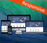 Business ZF0042 Navy Responsive Skin - Responsive Layout, Mobile, Tablet, Bootstrap