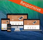 Business ZF0043 Brown Responsive Skin - Responsive Layout, Mobile, Tablet, Bootstrap