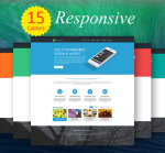 Business ZF0044 Pack Responsive Skin - Responsive Layout, Mobile, Tablet, Bootstrap