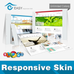 Easy Skin // Responsive // Typography // Unlimited Colors // Site Template // Shortcodes // DNN5/6/7