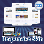 Mobile/Responsive Skin 60073_Blue**Mega Menu*Free Modules*Social Groups*Any Business*DNN5/6/7.x