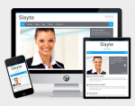 Slayte Responsive Skin from T-WORX // DNN 7 and DNN 6 // Bootstrap Components // Portal Template