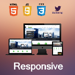 Icon Upgraded / Ultra Responsive  / Bootstrap 3 / 10 Colors / DNN 6.x & 7.x /