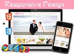 10107 Wedding/Single Skin/Slider BannerDIV/Responsive Skin/Bootstrap3/Mobile