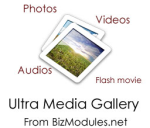 Ultra Media Gallery 9.7.1 with free Slider Collection