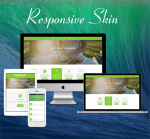 Business DNNSmart  ZF0045 YellowGreen Responsive Skin - Responsive Layout, Mobile, Bootstrap, Yoga
