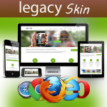 *Discounted* Legacy Skin / Ultra Responsive / 10 Colors / Bootstrap 3 / Parallax / DNN 6.x & 7.x