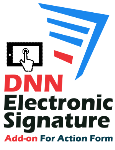 DNN Electronic Signature Add-on For Action Form