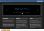 Bootstrap Darkly