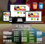HTML5 CSS3 // Web3.0 Print // Multiple Color // Flat UI // Retina // Mobile Responsive Themes