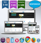 Rhine / HTML5 /  CSS3 / Ultra Responsive / Bootstrap 3 / 32 Colored / Clean / Beautiful