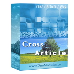 Cross Article 7.9 (News,Blog,RSS,Slideshow,Catalog,Media,Survey,Real Estate,Job Listing.., DNN 7.3)