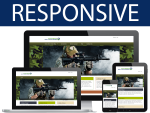 Camo Skin/ 12 Different Containers / HTML5 / CSS3 / Bootstrap 3