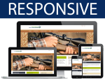 Guns Skin/ 12 Different Containers / HTML5 / CSS3 / Bootstrap 3