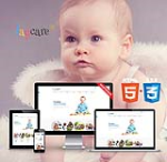 HTML5 CSS3 // Web3.0 DayCare // Multiple Color // Flat // Retina // Responsive Mobile // News Module