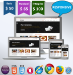 Mono / HTML5 / CSS3 / Nice Blue Ultra Responsive / Bootstrap 3 / 32 Colored / Clean / Beautiful