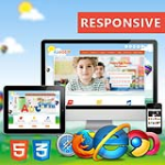 Happy Kids Theme //  HTML5 // Bootstrap 3 // Clean Design // Site templates // Blog // Portfolio