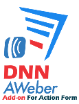 DNN Aweber Add-on For Action Form