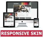 Company150102 Responsive Skin / Business / jQuery / Bootstrap3 / Mobile Friendly / DNN 7&6