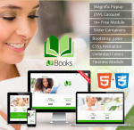 HTML5 CSS3 // Web3.0 Books // Multiple Color // Flat UI // Retina // Mobile Responsive //News Module