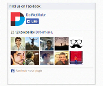 Responsive Facebook Like Box V1