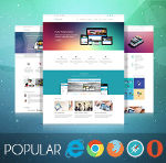 Popular V2 Theme // Responsive // Bootstrap 3 // Unlimited Colors // Retina // Site Template