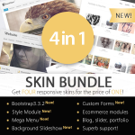 WSC 4 in 1 Skins and Modules Bundle + 2 Ecommerce Solutions